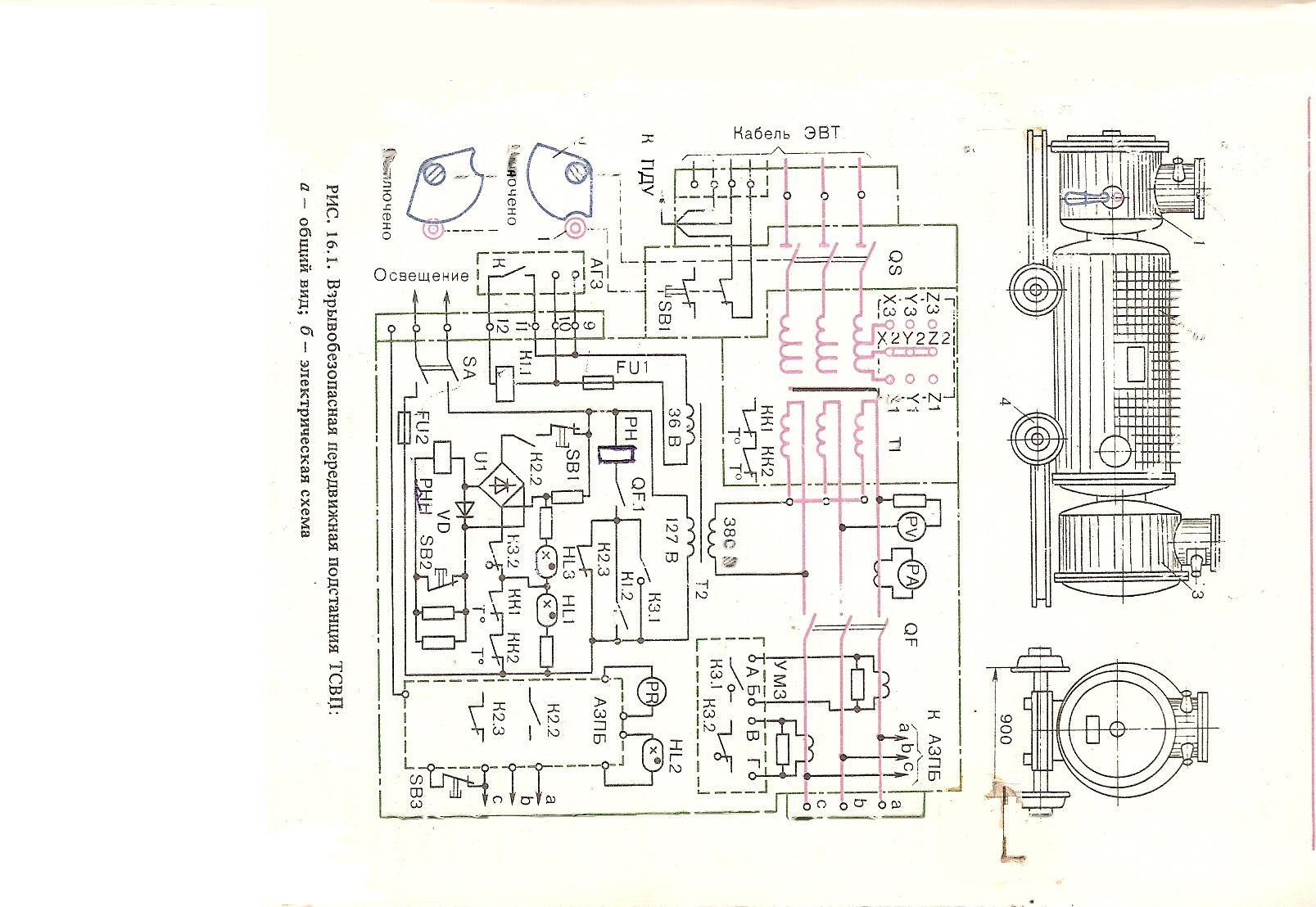 Чтение электрической схемы магнитного пускателя